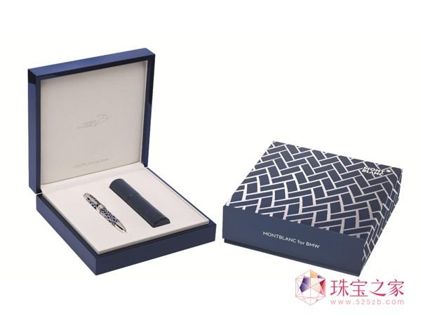 万宝龙为宝马打造百周年纪念版墨水笔