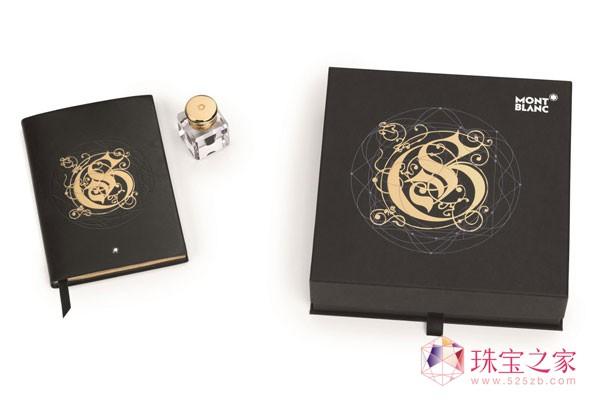 """万宝龙Golden Elixir系列墨水:点字成""""金"""""""