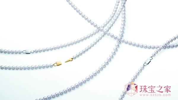 珍珠与钻石,见证金秋新娘的美好幸福