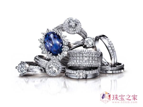 """珍藏爱的回忆 ENZO""""爱的完整表达""""彩色宝石"""