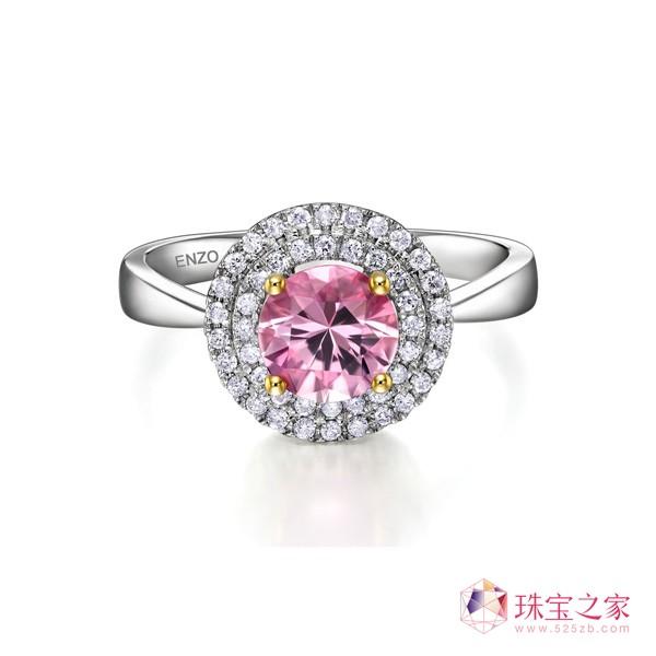 粉红碧玺,绽放最美丽的粉色浪漫