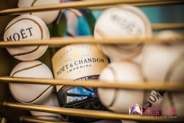 酩悦香槟携手范冰冰亮相上海劳力士大师赛派对