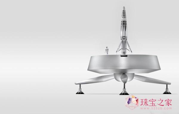 太空之梦:MB&F推出Astrograph火箭书写工具
