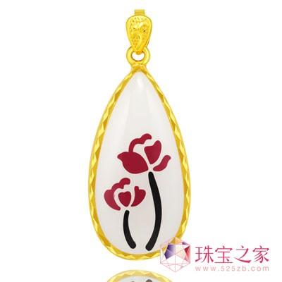 华昌珠宝年度力作:彩镶系列产品