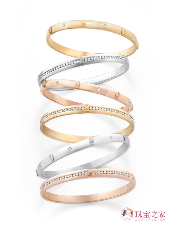 海瑞温斯顿璀璨呈献全新H.W. Logo设计珠宝系列