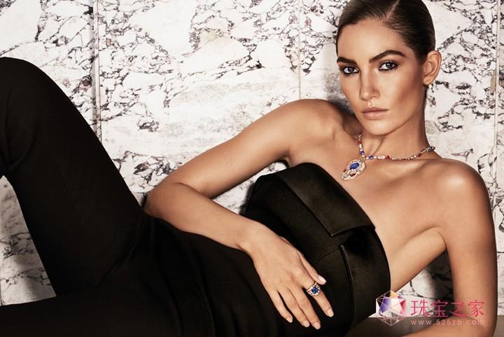 超模Lily 演绎罗马珠宝巨匠的永恒之美