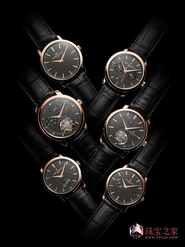 江诗丹顿传袭系列推出六款墨褐色表盘新品