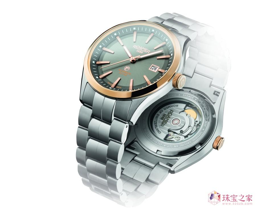扬起腕间的一抹风华,不仅有对时间的崇高敬意,还有来自瑞士罗马表对腕表之美、对精准计时的极致追求。瑞士罗马表,你值得拥有!13