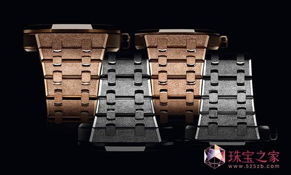 璀璨夺目 爱彼皇家橡树系列女装腕表