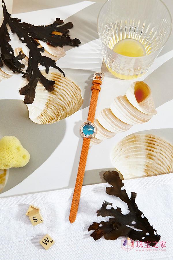 伊甸园爱情传说: CHAUMET尚美巴黎绣球花伊系列