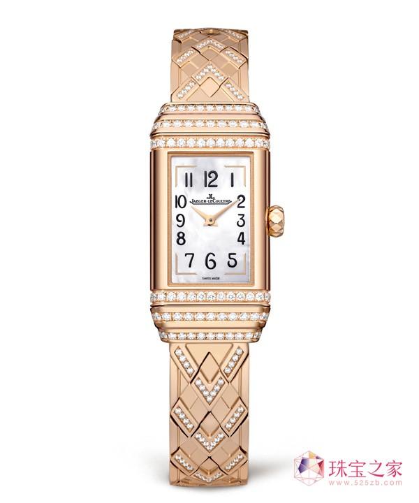 极致柔美,积家双面翻转系列珠宝腕表
