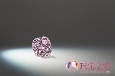 拍品3:Argyle Avaline™「阿盖尔艾瓦兰」,2.42克拉的垫形粉紫钻