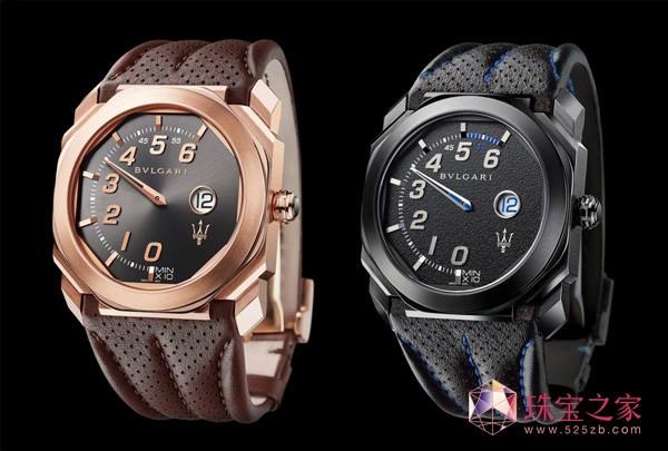 宝格丽与玛莎拉蒂超跑推出全新联名表款Octo Retro腕表