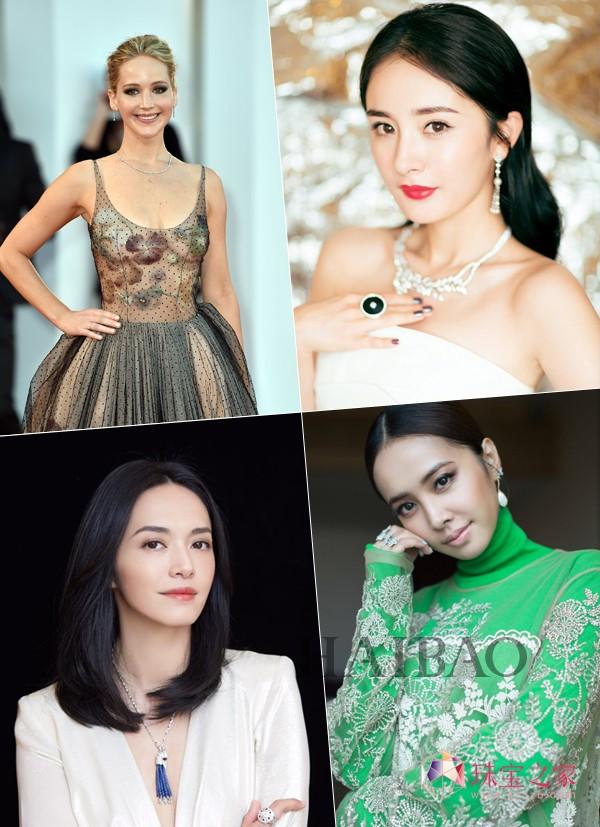 女明星红毯珠宝揭秘 杨幂范冰冰谁最闪耀?