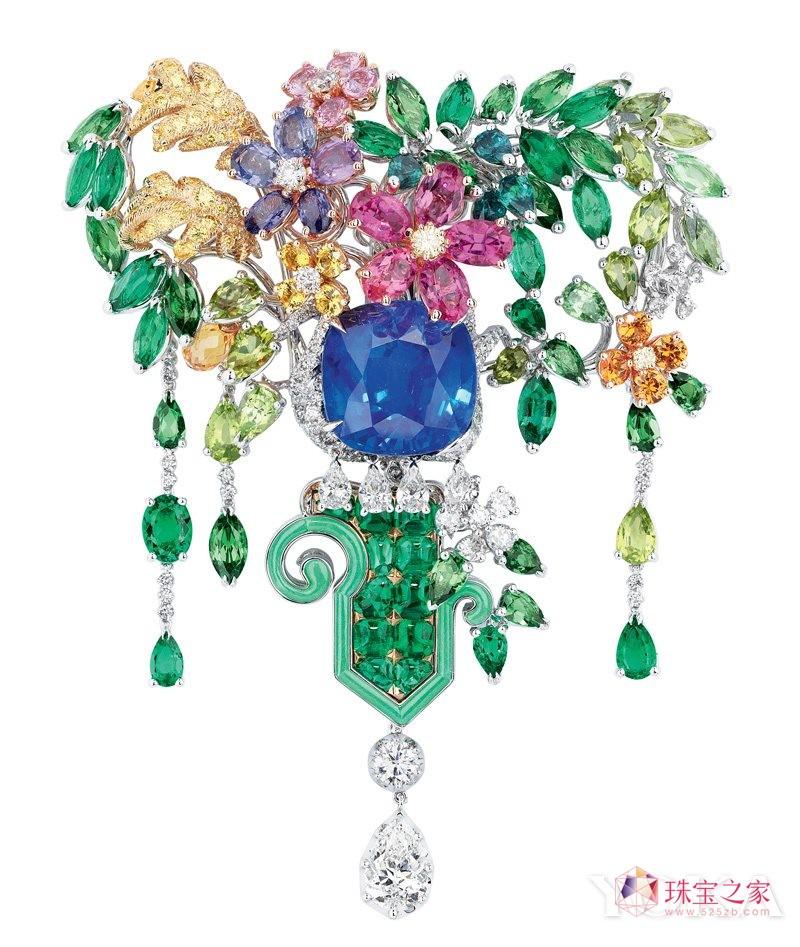Dior à Versailles, coté Jardins顶级珠宝系列