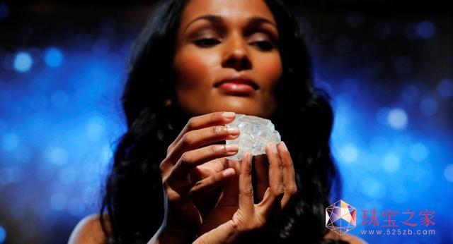 全球第二大钻石 卢卡拉钻石 格拉夫 苏富比拍卖