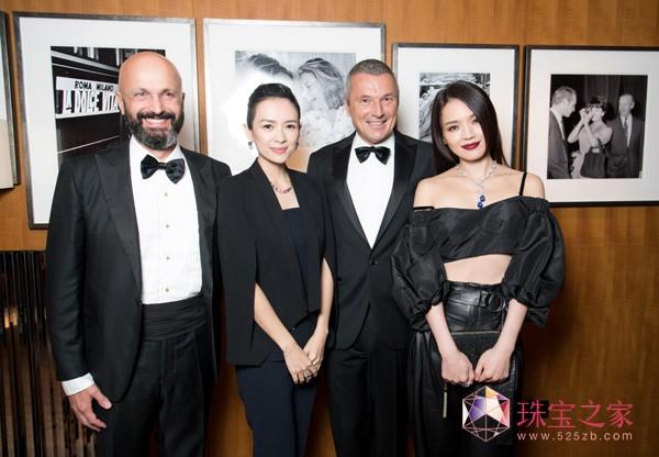 舒淇、Jean Christophe Babin、章子怡,意式风华邂逅京城艺术,中国首家宝格丽酒店正式开幕