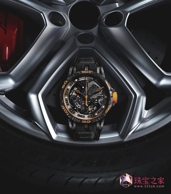 罗杰杜彼携手兰博基尼推出两款限量版腕表