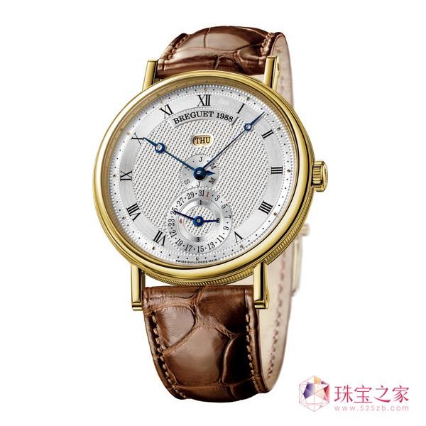宝玑2017 Only Watch 呈献线性万年历腕表