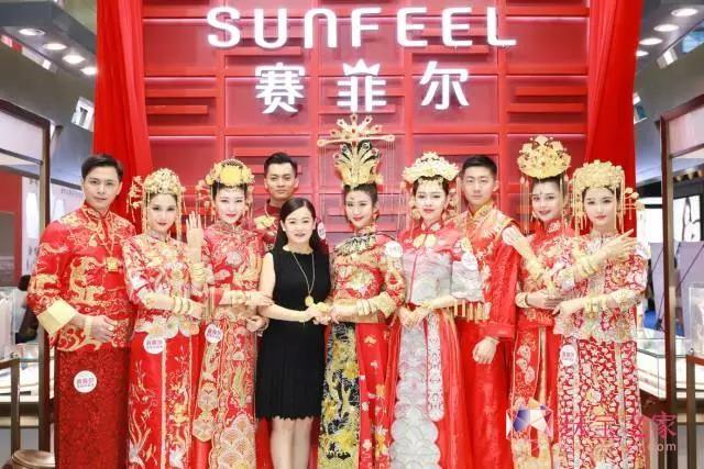 """赛菲尔""""大美中国风万足金婚纱""""盛宴:匠心所向,只为极致"""