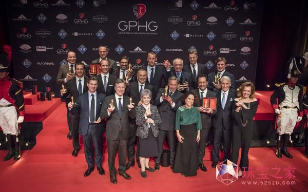 2017 GPHG日内瓦高级钟表大赏获奖名单