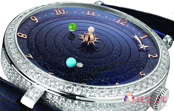 再绘美丽星空,梵克雅宝全新诗意复杂功能系列腕表