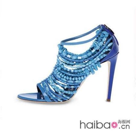 塞乔・罗西(sergio rossi):多元素混搭高跟凉鞋 另类优雅