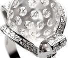 水晶戒指指尖极致诱惑