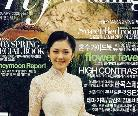 可爱张娜拉的婚纱照
