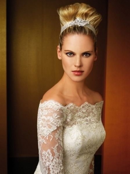 欧式复古婚纱 流行中见经典