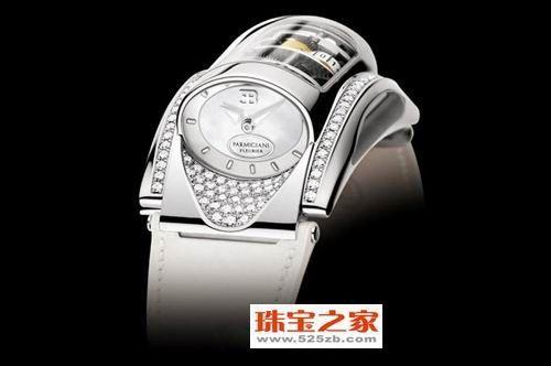 布加迪威龙推出白金限量手表 高清图片