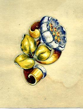 发些首饰设计图13 国外大师的手绘作品