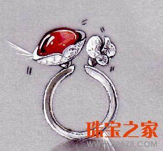 世界级著名设计师cecile的作品集 _珠宝设计_珠宝之家