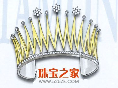 手绘首饰设计样稿欣赏(二)_珠宝设计_珠宝之家