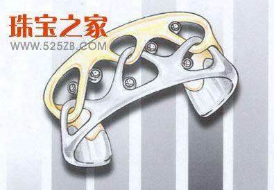 手绘首饰设计样稿欣赏(三)