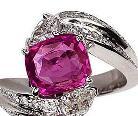 一生就一次 幸福奢华宝石戒指