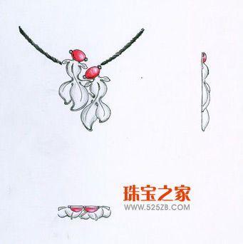 """08""""万隆珠宝杯""""设计大赛手绘作品集结号(一)"""