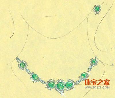 08万隆珠宝首饰设计大赛手绘作品集结号 二