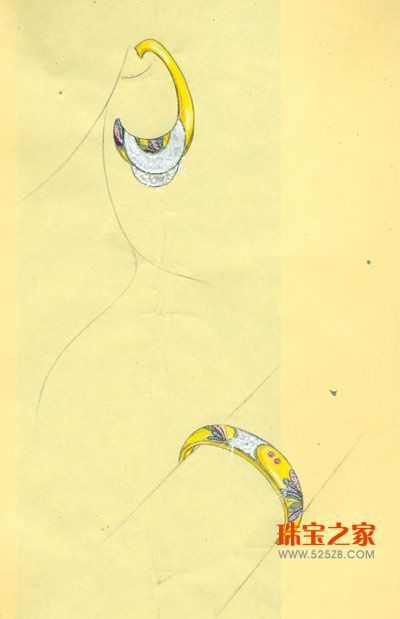 08万隆珠宝首饰设计大赛手绘作品集结号(二)