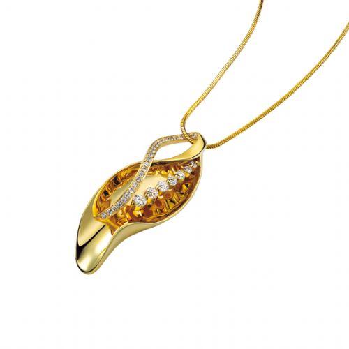 高清首饰设计图; > 钻石;                               豌豆-吊坠