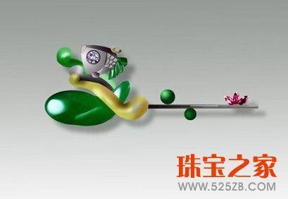 刘超谈现代翡翠的设计与雕刻