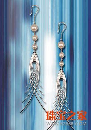 第四届珠宝首饰设计(潮宏基杯)大赛耳饰组作品欣赏图片
