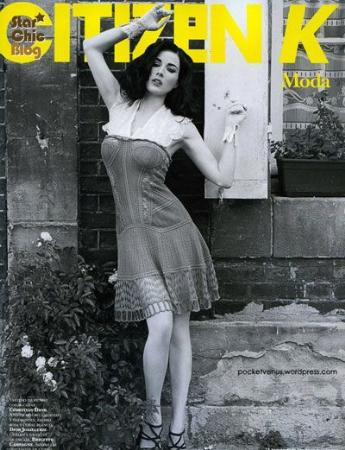 舞娘名媛上国际一线杂志封面