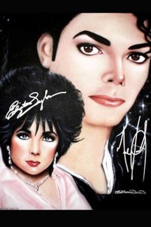 杰克逊、泰勒巨幅签名画将被拍卖