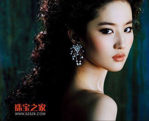刘亦菲:绝美容颜与惊世珠宝的激情碰撞