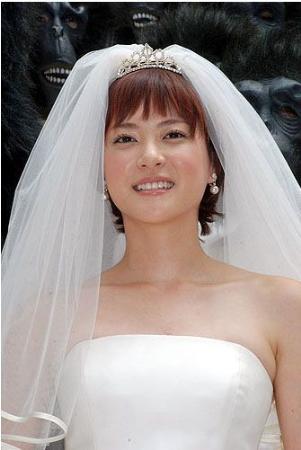 上野树里新片婚纱造型曝光