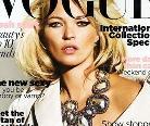 Kate Moss成9月封面宠儿