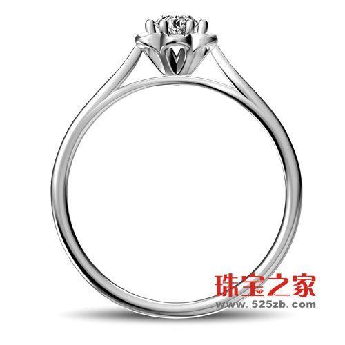 优雅,惹人注目,并细腻的悉心象征出爱意满满.爱迪尔钻戒,采用高清图片