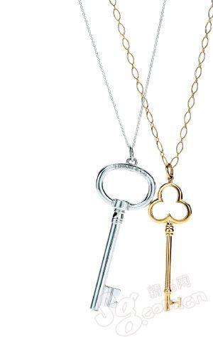 钥匙形吊坠项链Tiffany-最不应错过之经典款珠宝 点亮你通身的那一件