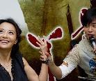 """马雅舒亮相上海宣传 大秀订婚戒""""鸽子蛋""""(图)"""